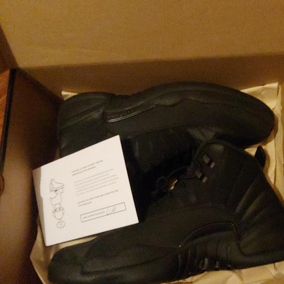 buy popular 21bc9 692a9 Air Jordan 12 Retro Black Winter
